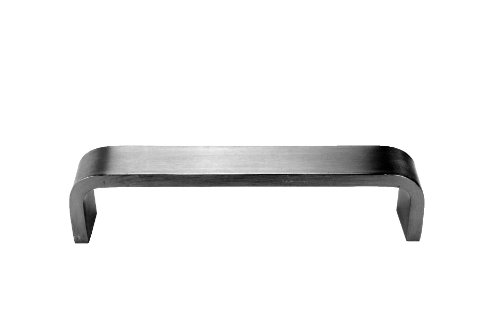 Don-Jo 32 Solid Bar Stock Flat Bar Door Pull with Through Holes, Rectangular, Satin Stainless Steel Finish, 10 Center-to-Center, 2 Projection, 1-5/8 Clearance by Don-Jo (Steel Flat Stock Bar)
