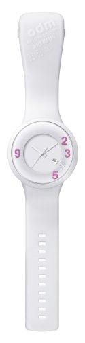 odm-dd127-06-reloj-analogico-de-cuarzo-unisex-correa-de-silicona-color-blanco