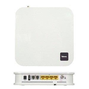 Gbe Usb (Televes-Modul GPON Ont 4x GbE + 2x FXS + 2x USB WLAN RF)