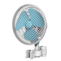 grow-fritz Ventilator Oszillierend, 2 Geschwindigkeiten mit Federclip, für Zeltgestänge ab 16mm