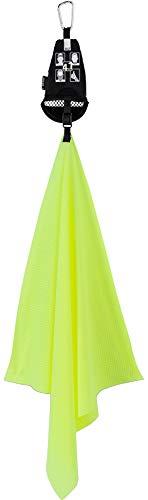 Jack Wolfskin Unisex- Erwachsene Ultra Cool Towel Handtuch, neon Yellow, ONE Size