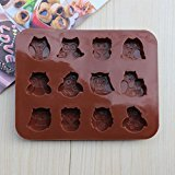Elegantstunning Gebäck Forma silicona Caramelos Chocolate