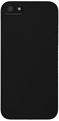 Aiino Coque en caoutchouc pour Apple iPhone 5/5S noir