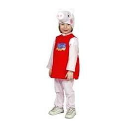 Comogiochi 99020 costume peppa pig 3/4 anni