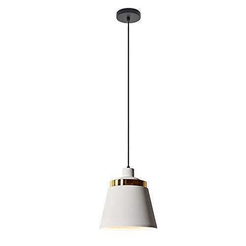 Oevina Modern Nordic Pendelleuchte, Aluminium Esszimmer Hängen Licht Industrielle Deckenpendelleuchte Küche Insel für Schlafzimmer Flur Entryway-3-Lights Lange Platte (Color : White, Size : B) -