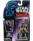 Star Wars Action Figur 69602 - Leia in Boushh Disguise with Blaster Rifle and Bounty Hunter Helmet (Shadows of the Empire)