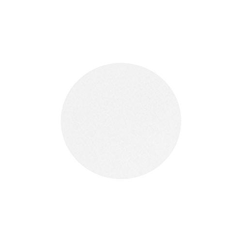 Filzuntersetzer Tassenuntersetzer Glasuntersetzer Tischschoner Filz Untersetzer rund ca. 4mm dick ca. Ø 10 cm Durchmesser (4 Stück ca. Ø 10 cm, 01 Weiß)