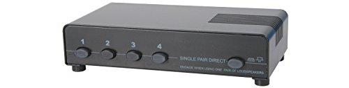 AV: LINK 128.425140W 4Way geschützt Lautsprecher Selector