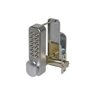 Securefast Mechanical Digilock Digital Push Button Door Key Pad Lock – Silver Model SBL300