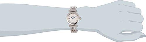 Seiko Damenuhren SRZ403P1 – Reloj analógico de cuarzo para mujer, correa de acero inoxidable color plateado