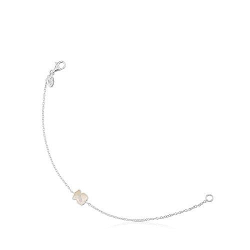 Tous braccialetto a catenina donna argento - 615431670