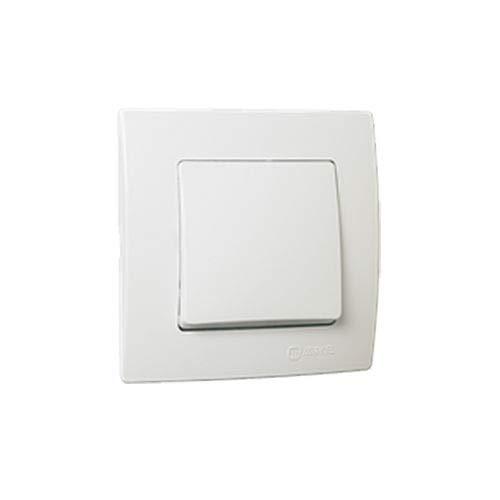 Cruzamiento blanco con marco incluido Makel 32001020