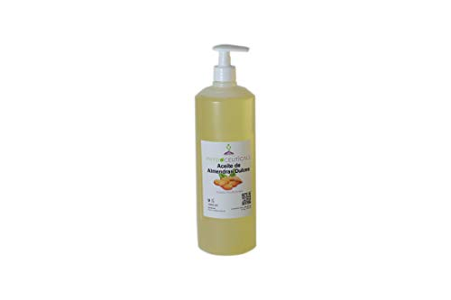 Aceite de Almendras Dulces 100% Puro. PRIMERA PRESIÓN EN FRIO. 1000 ml. INCLUYE...