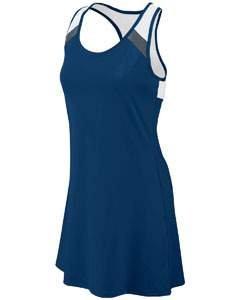 Augusta Sportswear Women'S Deuce Dress M Navy/Graphite/White (Drop-front-tank)