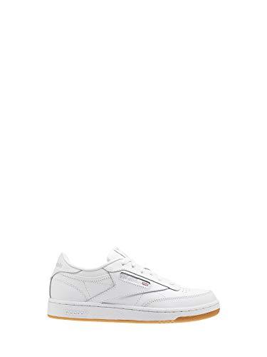 Reebok Classic Echtleder Schuhe Kinder Sneaker Turnschuhe Club C Weiß, Größenauswahl:36 - Reebok Tennis Club