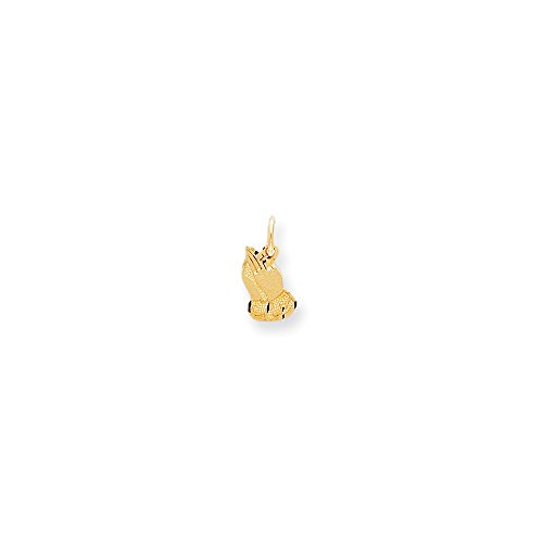 IceCarats Designer Jewellery 10K Praying Hands Charm