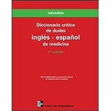 Diccionario Crítico de Dudas Inglés-Español de Medicina