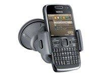 Nokia E72 Navi Smartphone (6 cm (2,3 Zoll) Display, Bluetooth,  5 Megapixel Kamera, QWERTZ-Tastatur) schwarz E72 Smartphone