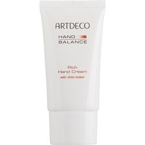 Artdeco Pflege Handpflege Rich Hand Cream with shea butter 75 ml