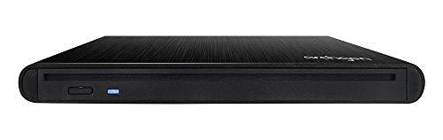 Archgon Style Externer DVD Brenner/Player für PC USB 3.0 USB-C, M-Disk, Slot Load Disc Drive, Alu schwarz Slot-load Dvd-rw