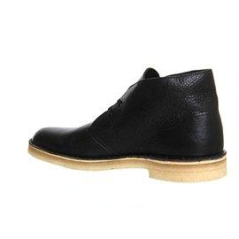 Clarks Originals Desert Boot, Chaussures de ville homme Noir Cuir Vieilli