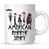 Wednesdays We Wear Black American Horror Story Mug White Mug 10oz by Mug