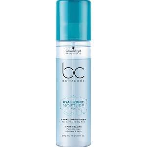 Schwarzkopf BC Bonacure Hyaluronic Moisture Kick Spray Conditioner 400 ml Entwirrt & spendet tiefgehende Feuchtigkeit - Spray Conditioner Bc