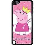 Hot Pink Princess Peppa Pig Phone Coque Ipod Touch 5th Generation Peppa Pig Handsom boys ,Cas De Téléphone