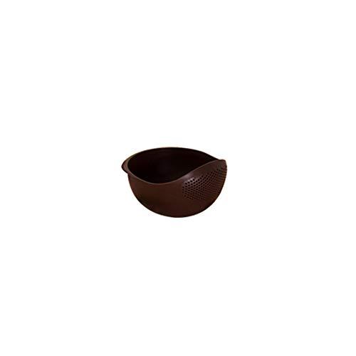 Gran Capacidad Colorido Espesar Plastico Olla Arrocera, Grado Alimenticio Material De PP Respetuoso Con El Medio Ambiente. La Cocina Olla Arrocera Rejilla De Drenaje Cesta De Lavado