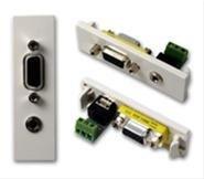 Vision TC2 VGAF3.5MMD connecteur de fils D-sub/3.5 mm Blanc