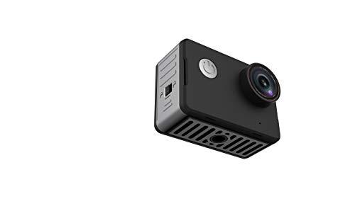 NK-CA3143-TA - Cámara deportiva 4K con pantalla táctil HD de 2in, lente de 170 grados, resistente al agua 10m sin carcasa, color negro (Reacondicionado)