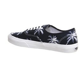 Vans Authentic VEE332D Sneaker, Unisex Adulto Palm Print Navy