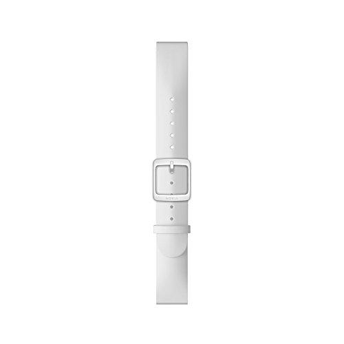Nokia – Silikonarmband, weiß (White),36 mm