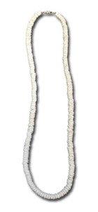 Hawaiian Style Puka Shell Necklace 16 inch by KC Hawaii