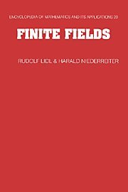 Finite Fields 2nd Edition Hardback (Encyclopedia of Mathematics and its Applications)