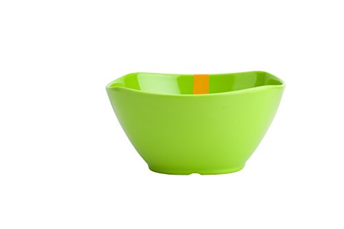 ARO Melamine Vegetable Bowl, 3.5 inches, 6 Piece, Green
