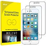 JETech Panzerglas für iPhone 6s Plus und iPhone 6 Plus, Gehärtetem Glas Schutzfolie, 2 Stück