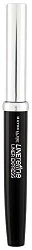 Maybelline Liner Express Eyeliner in Schwarz, Flüssig-Eyeliner mit Filzspitze für einen super-einfachen Lidstrich, wischfest, pflegend, langanhaltend, 1,4 ml