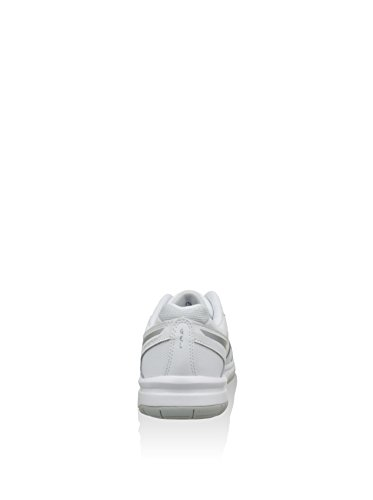 Asics, Baskets Femme Blanc / Argent