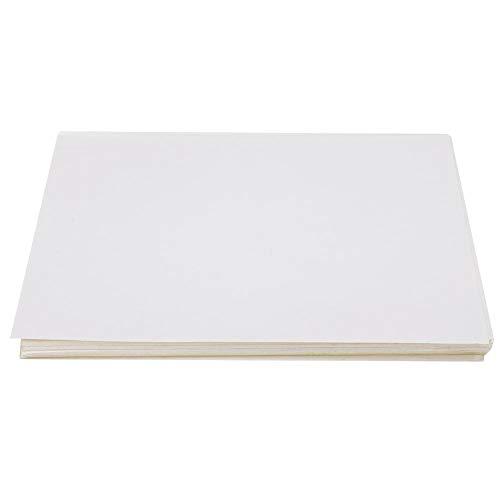 A4-Papier, 80 Stück A4 Holt Schmelzkleber Aufkleber Tag Papier gelb unten Druckpapier für die Schule(Glänzend)