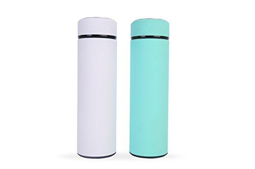 Edelstahl Wasser Flasche Tumbler: BPA-frei, Vakuum Isolierter