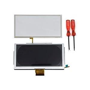 TOMSIN Ersatz-LCD-Display und Touchscreen-Digitizer für Nintendo Wii U GamePad