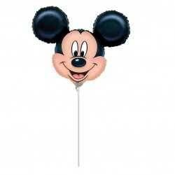 ANAGRAM balón de Papel de Aluminio minishape 9'-23cm Mickey-si hincha de Aire,, 7a0788902