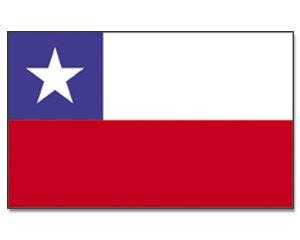 Yantec drapeau chili 150 x 250 cm
