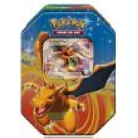 Pokemon Platinum Fall 2009 Collector Tin Set Charizard with Charizard G LV X ...