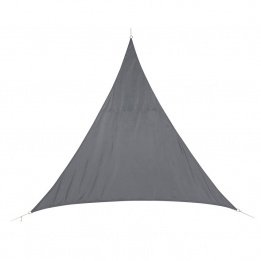 JJA 117749 Curacao Voile Ombrage Polyester Gris 3 x 3 x 3 m