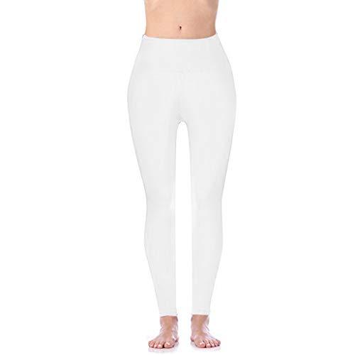 Damen Hochbund-Leggings Sporthose Damen Yogahose Laufhose Fitnesshose Yoga Sport Leggings Tights für Damen für Training, Radfahren, Laufen, Gymnastik, Yoga, etc -
