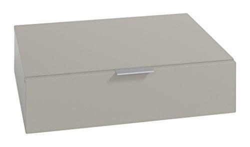 LOWE Muebles Uno - Módulo 1 Cajon, 45 x 47 x 15 cm, Gris