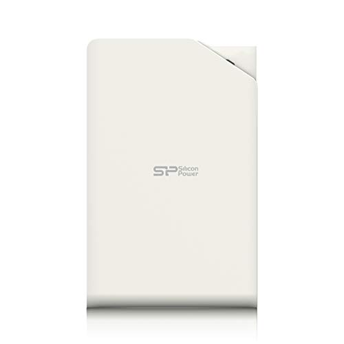 Silicon Power Stream S03, 1TB 3.0 (3.1 Gen 1) 1000GB Color blanco - Disco duro externo (1TB, 3.0 (3.1 Gen 1), USB Type-A, Windows 2000, Windows 2000 Professional, Windows 7 Home Basic, Windows 7 Home Basic x64, Windows 7 H, Color blanco, 5 - 55 °C, -40 - 70 °C)