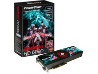 TUL Radeon HD 6990 Grafikkarte (PCI-e, 4096MB GDDR5 Speicher, 4 Mini DP, 2 GPU) - Powercolor Radeon Hd Pcs